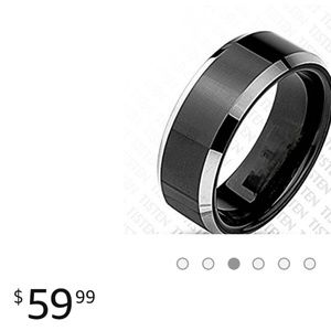 Other - Tungsten wedding band for Men